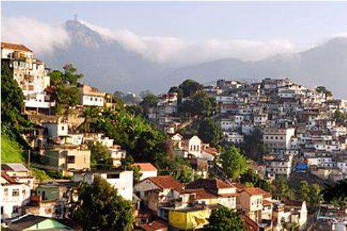 Favelas in Brazil Pic