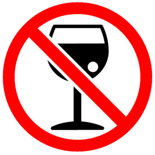 No Drink Alcohol