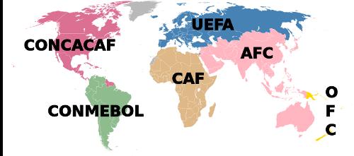 FIFA Map