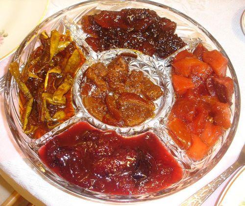 Festival of Rosh Hashanah Foods