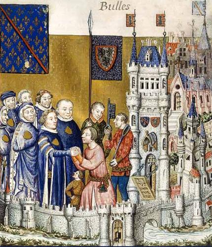Feudalism in Europe Image