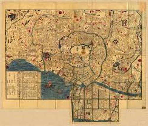 Feudalism in Japan Map