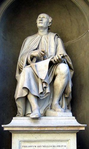 Filippo Brunelleschi Statue