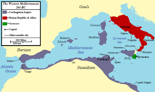 Facts about the First Punic War