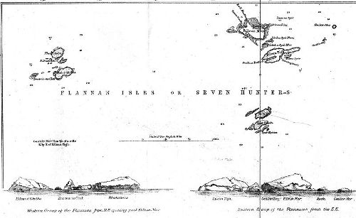 Flannan Isle Map