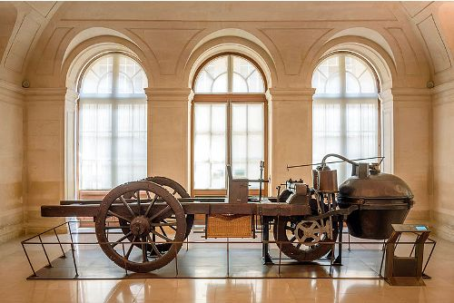 the First Automobile 1770