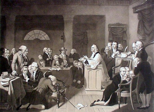 the First Continental Congress Image