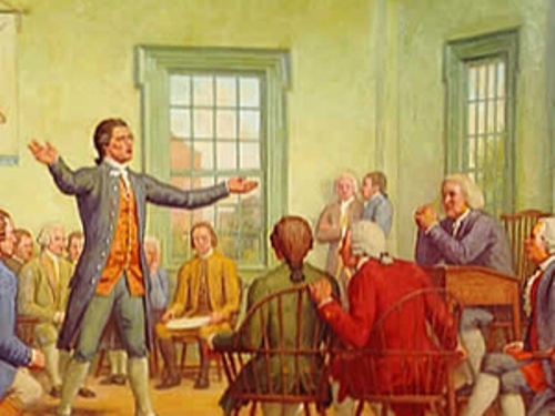the First Continental Congress Pic