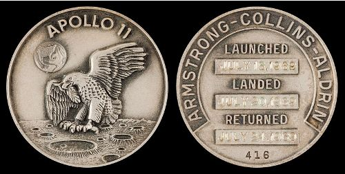 the First Moon Landing Coins